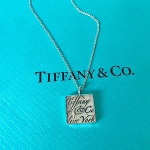 Tiffany & Co. Silver Notes Collection Necklace
